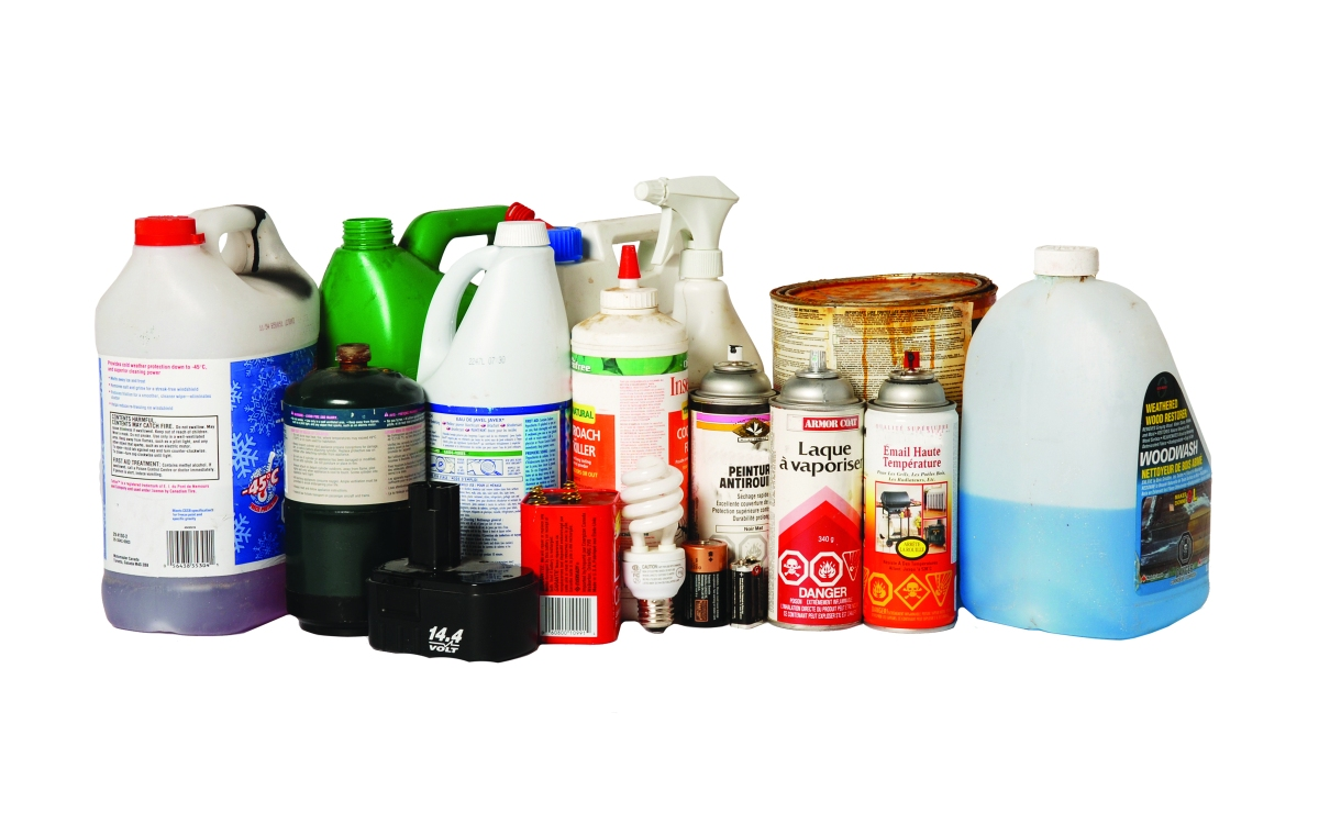 Household hazardous waste gallatin solid waste for Waste materials at home
